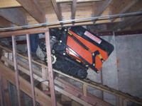 Hauler down basement ramp sfa.JPG